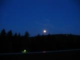 in der ersten Nacht hatten wir einen wunderbaren Mondschein. Von der Mondfinsternis hatten wir erst den Tag drauf erfahren - wir haben Sie leider nicht mitbekommen.