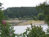 letztes Jahr im Mai waren wir hier und im Vergleich zu heute fehlen bestimmt 20m Wasserpegel bei der Okertalsperre. booooaaaah