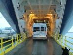 ... und dann fast als letzte ins Schiff :(