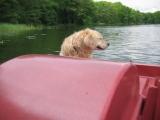 Tretboot fahren....