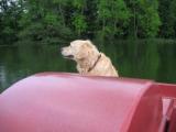 auf dem Wasser überraschte uns ein kleiner Nieselschauer, danach wurde das Wetter aber wieder richtig schön......